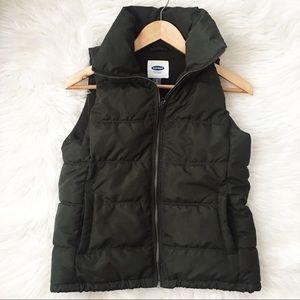 Hunter Green Puffer Vest